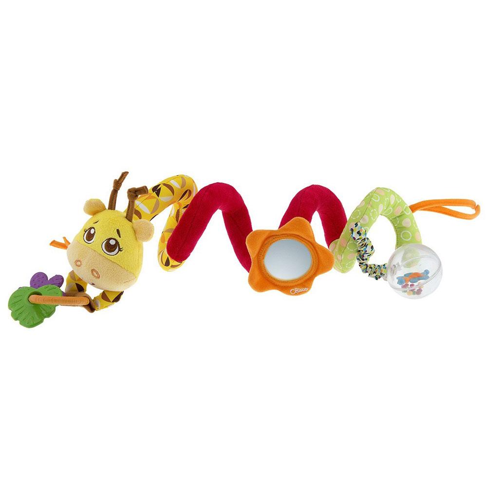 Chicco Игрушка в коляску Джунгли на прогулке погремушки и прорезыватели chicco