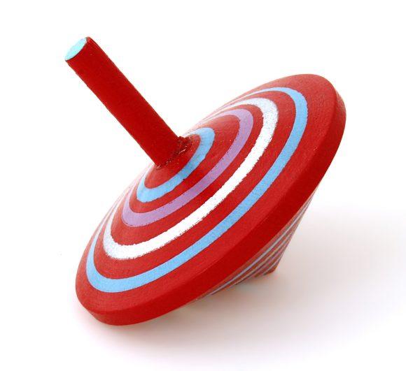 Mapacha Волчок Спиралька, цвет: красный