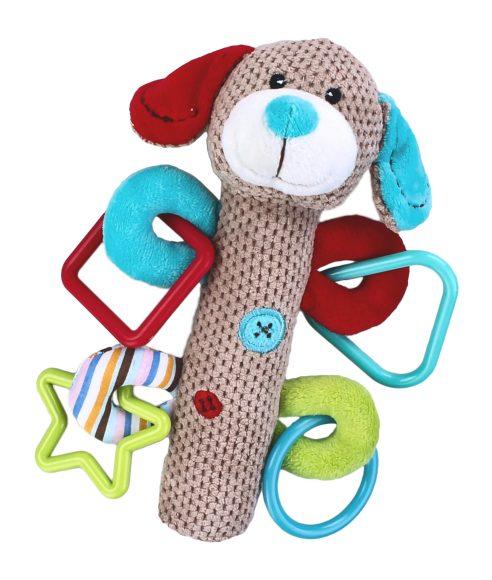 Жирафики Развивающая игрушка Щенок с пищалкой жирафики развивающая игрушка пищалка динозаврик 93920