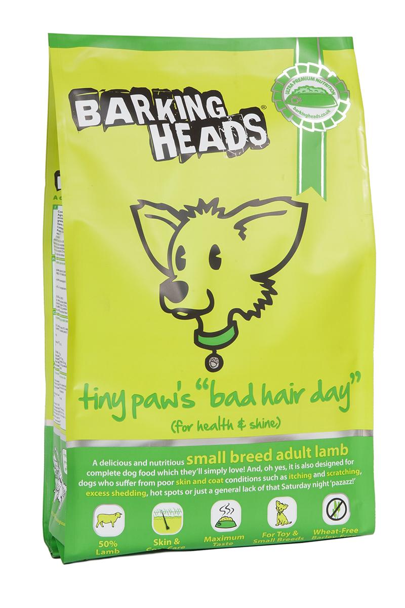 Корм сухой Barking Heads Роскошная шевелюра для мелколапого, для собак мелких пород, с ягненком и рисом, 4 кг18090Сухой корм Barking Heads - вкуснейший полнорационный корм для собак, специально разработанный, чтобы держать наших любимцев в наилучшей форме! Натуральные ингредиенты непременно понравятся вашему питомцу.Состав: свежеприготовленная ягнятина 26%, сушеная ягнятина 20%, коричневый рис, сладкий картофель, овес, белый рис, горох, бульон из баранины 2,5%, свежеприготовленная форель 2%, бараний жир 2%, лососевый жир 2%, люцерна, морские водоросли.Гарантированный анализ (%): белок 22%, содержание жира 14%, зола 9%, клетчатка 3%, влага 8%, Омега-6 (2,5%), Омега-3 (1,6%).Витамины: витамин А 20800 МЕ, витамин D3 1850 МЕ, витамин Е 580 МЕ.Микроэлементы: моногидрат сульфата железа 770 мг, моногидрат сульфата цинка 645 мг, моногидрат сульфата марганца 125 мг, пентагидрат сульфата меди 45 мг, безводный йодат кальция 5,70 мг, селенит натрия 0,65 мг.Товар сертифицирован.