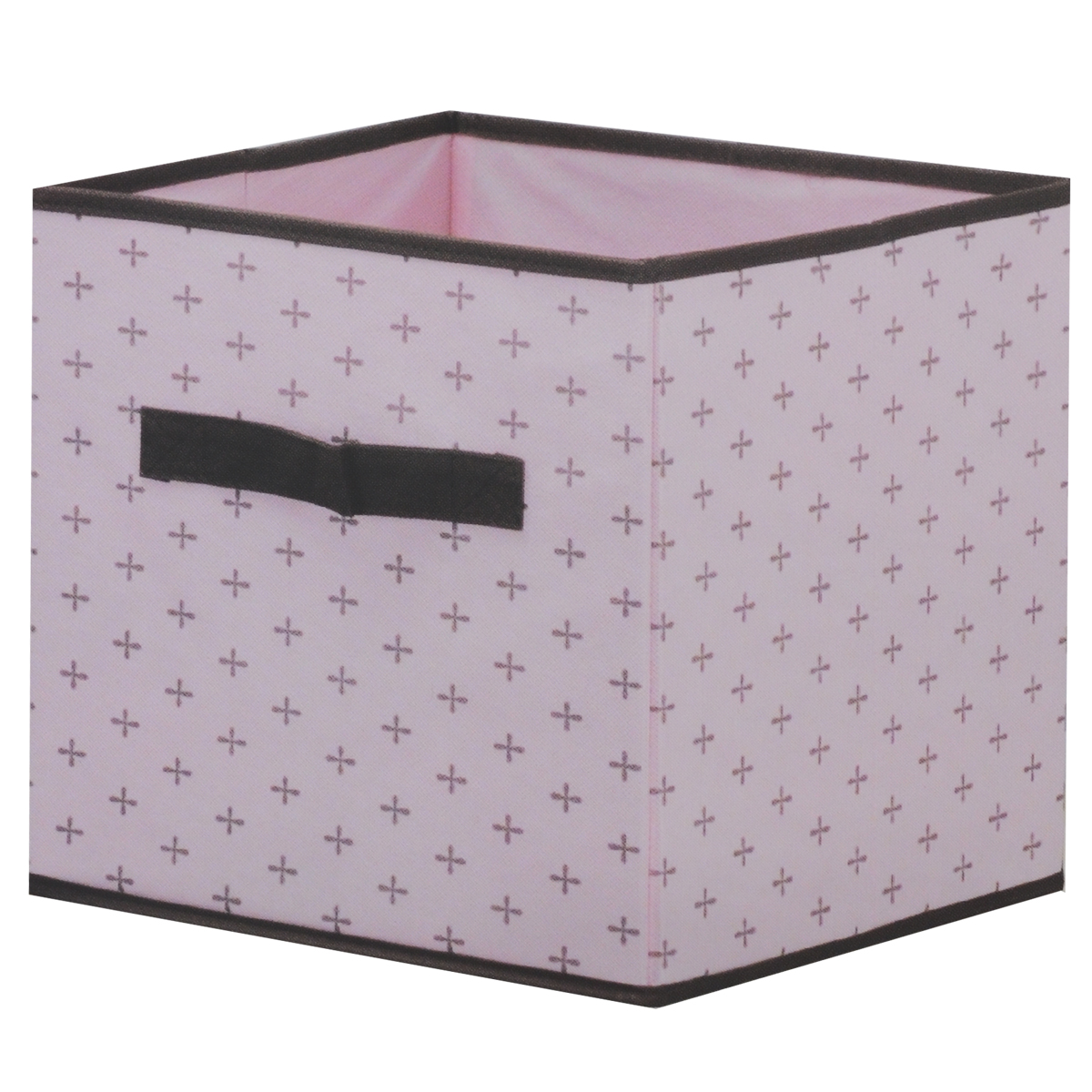 Ящик для хранения, цвет: розовый, 26 х 26 х 26 смFS-6131RЯщик для хранения изготовлен из высококачественного нетканого материала, который позволяет сохранять естественную вентиляцию, а воздуху свободно проникать внутрь, не пропуская пыль. Материал легок, удобен и не образует складок. Благодаря специальным вставкам, ящик прекрасно держит форму, а эстетичный дизайн гармонично смотрится в любом интерьере. Особая конструкция позволяет при необходимости одним движением сложить или разложить ящик. Ящик оснащен удобной ручкой. Такой ящик сэкономит место и сохранит порядок в доме.