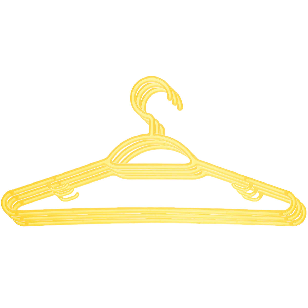 Набор вешалок Econova, с перекладиной, с крючками, цвет: желтый, размер 48, 3 шт. С12356С12356_желтыйНабор Econova, выполненный из прочного пластика, состоит из 3 вешалок.Каждое изделие оснащено перекладиной и боковыми крючками. Вешалка - это незаменимая вещь для того, чтобы ваша одежда всегда оставалась в хорошем состоянии.Комплектация: 3 шт.Размер одежды: 48.