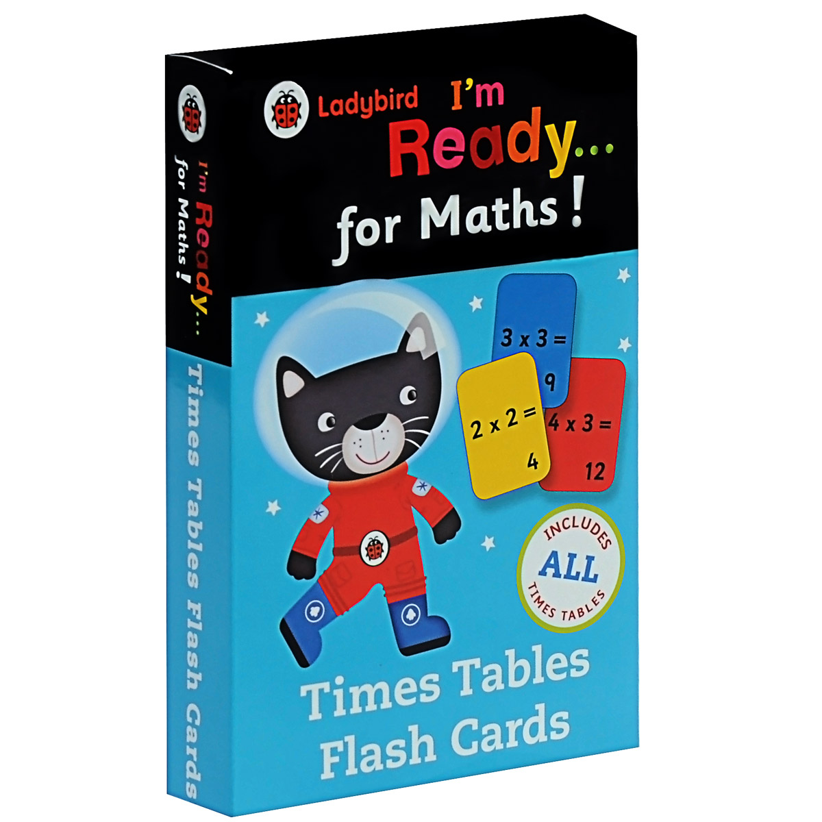 I'm Ready... for Maths! Time Tables Flash Cards roger priddy let s get ready for school simple maths маркер