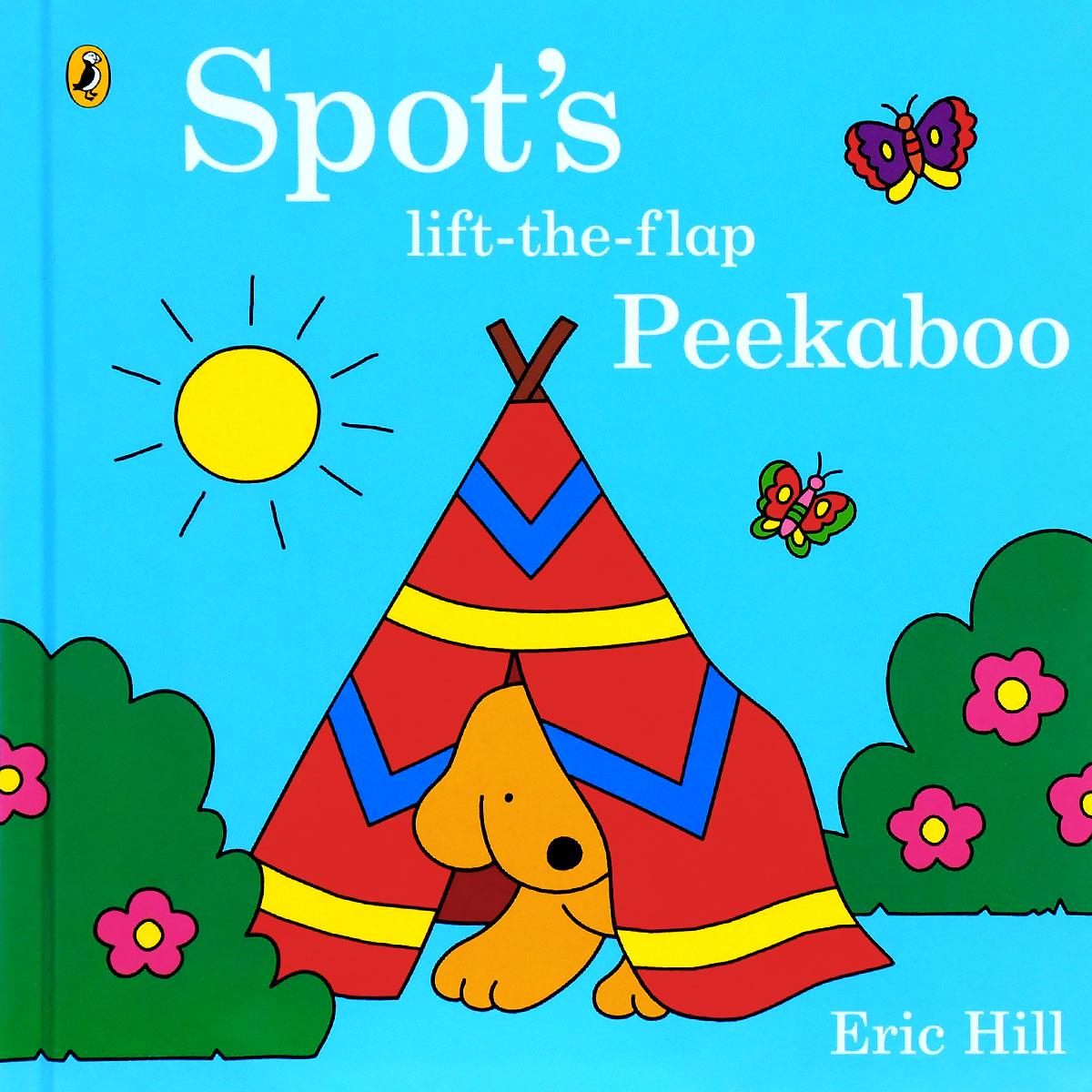 Spot's Lift-the-Flap Peekaboo peep inside the garden