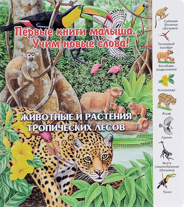 Первые книги малыша. Животные и растения тропических лесов ISBN: 9785889447801