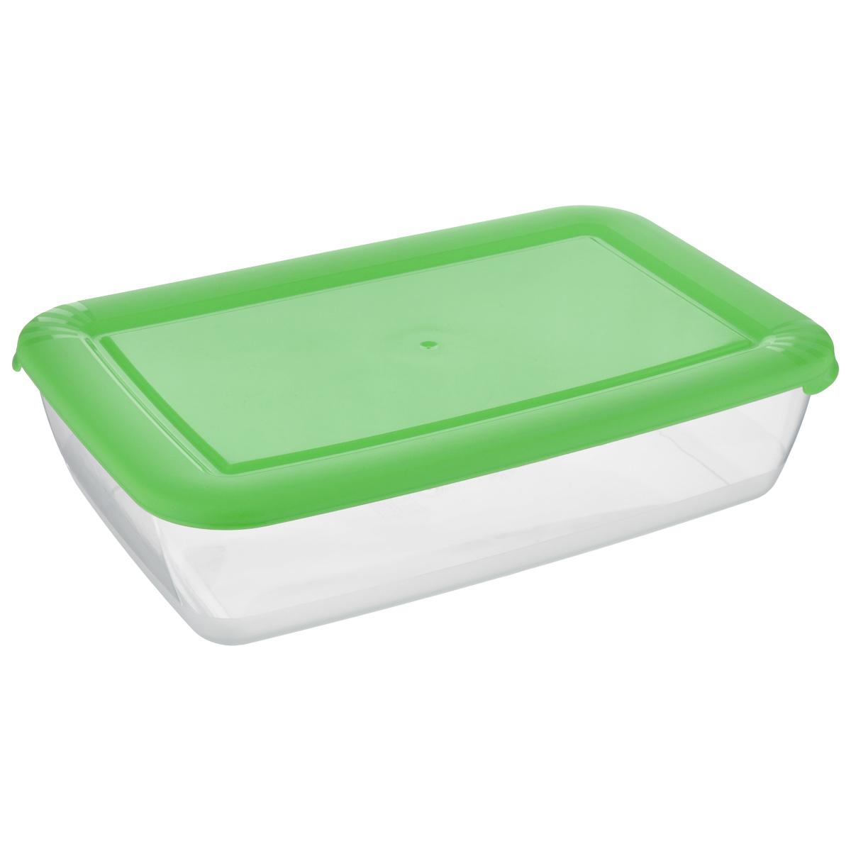 Контейнер Полимербыт Лайт, цвет: салатовый, 3 лС554_салатовыйКонтейнер Лайт изготовлен из высококачественногопищевого прозрачного пластика и оснащен крышкой.Подходит для использования в микроволновой печи без крышки (до +120°С), длязаморозки при минимальной температуре -40°С. Можно мыть в посудомоечноймашине.