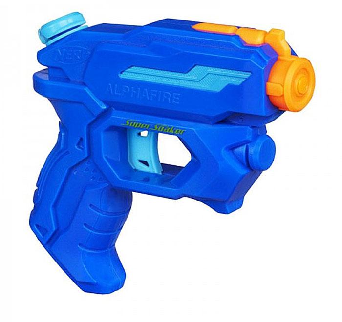 Водный бластер Nerf Super Soaker. Альфа, цвет: синий, оранжевый хасбро hasbro a5832 бластер скаттербласт nerf super soaker