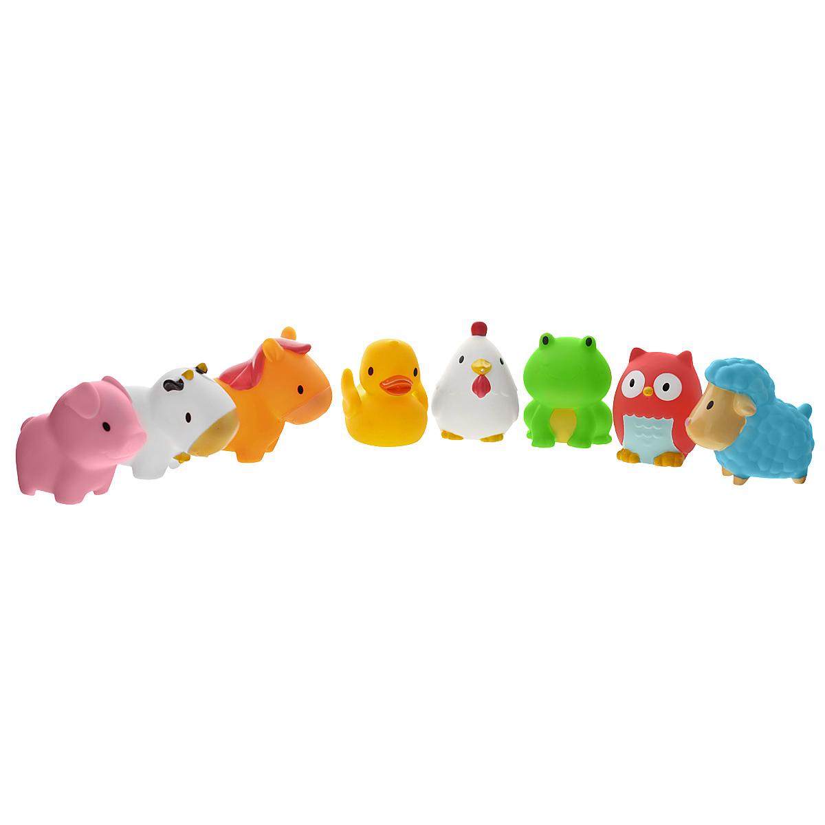 Набор игрушек для ванны Munchkin Squirtin' Farmyard Friends, 8 шт munchkin набор игрушек для ванны морские животные 8 шт