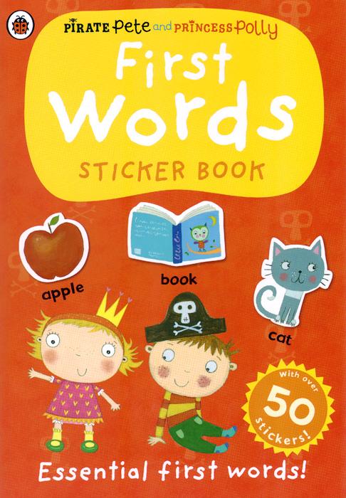 First Words: Sticker Book 100 first spanish words sticker book