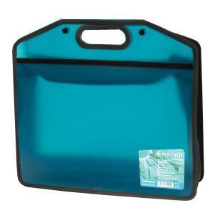 Портфель А4, цвет: зеленый15425