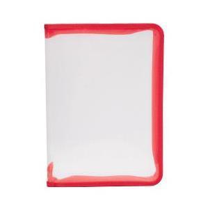Папка (А4+) на молнии, цвет: красный50120