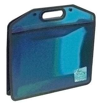 Портфель А4, цвет: синий15425