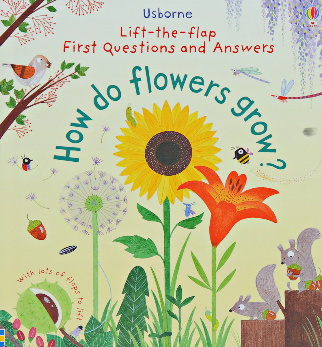 Lift-The-Flap First Questions and Answers How Do Flowers Grow?