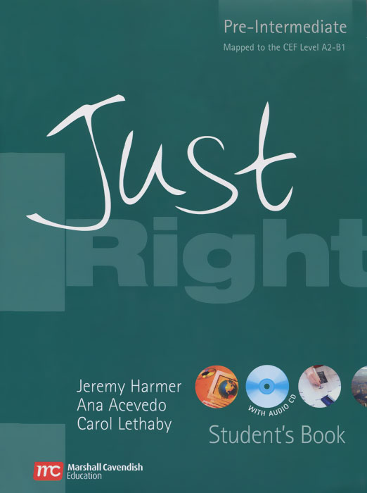 Just Right: Pre-Intermediate: Student's Book (+ CD-ROM) choices pre intermediate teacher s book dvd rom