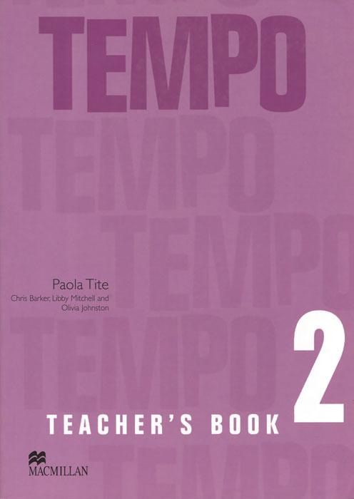 Tempo 2: Teacher's Book italian visual phrase book