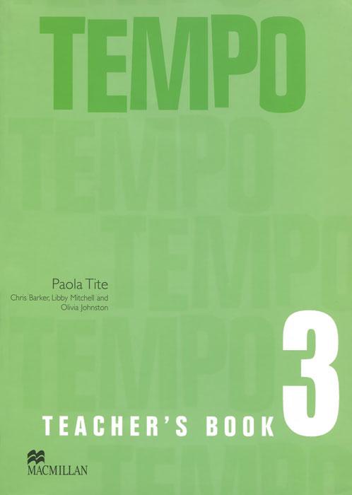 Tempo 3: Teacher's Book italian visual phrase book