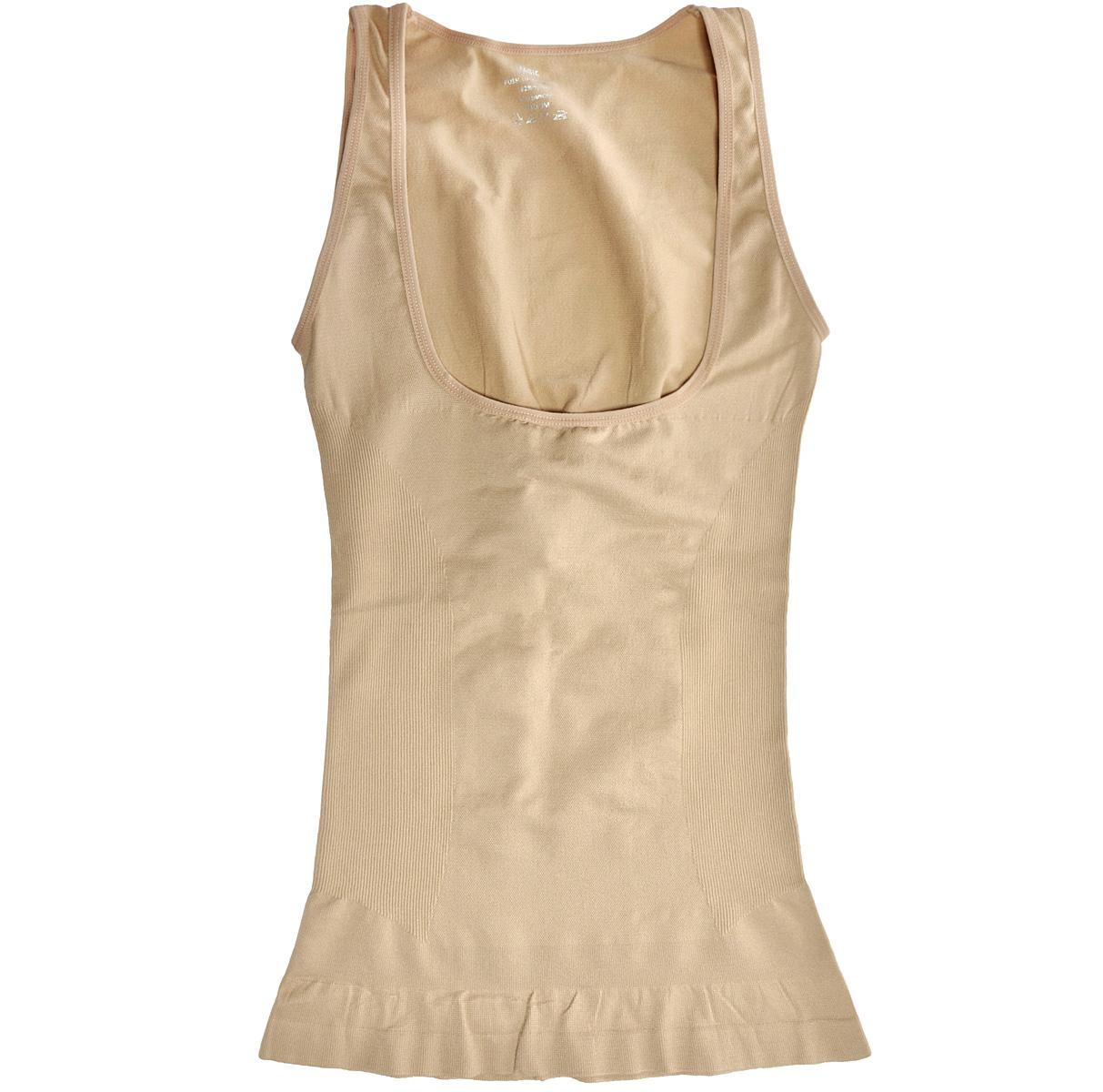 Майка женская Magic BodyFashion Push-Up Camisole, корректирующая, цвет: бежевый. 40CA. Размер XL (50) крем для увелечения груди push up