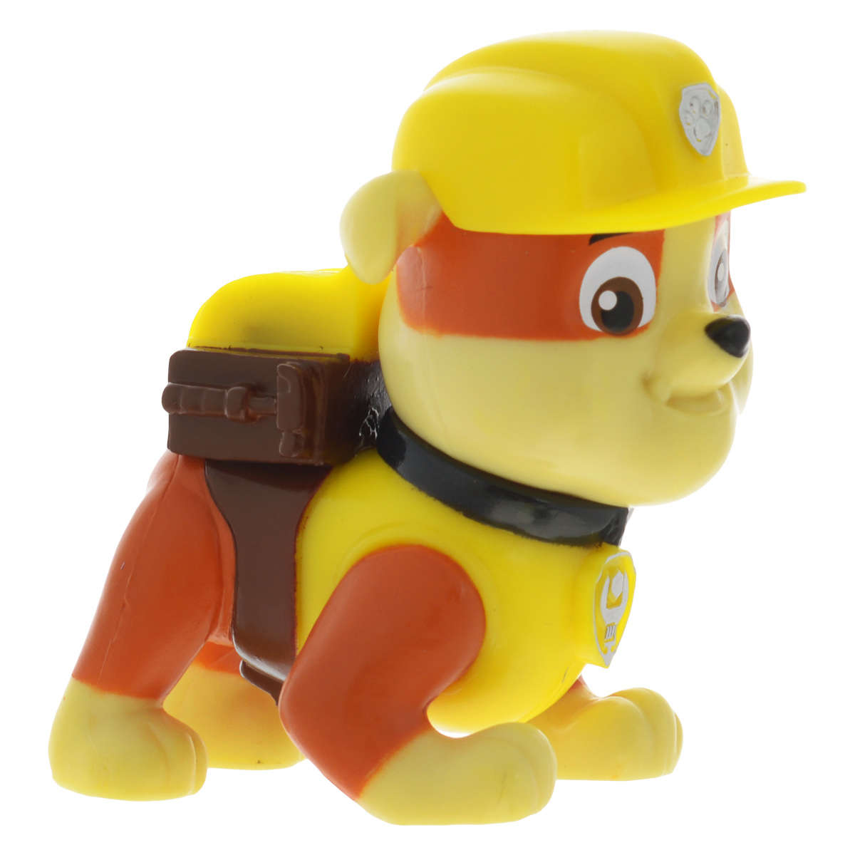 Мини-фигурка Щенячий патруль Щенок Rubble. 16612_20066913 paw patrol фигурка rubble