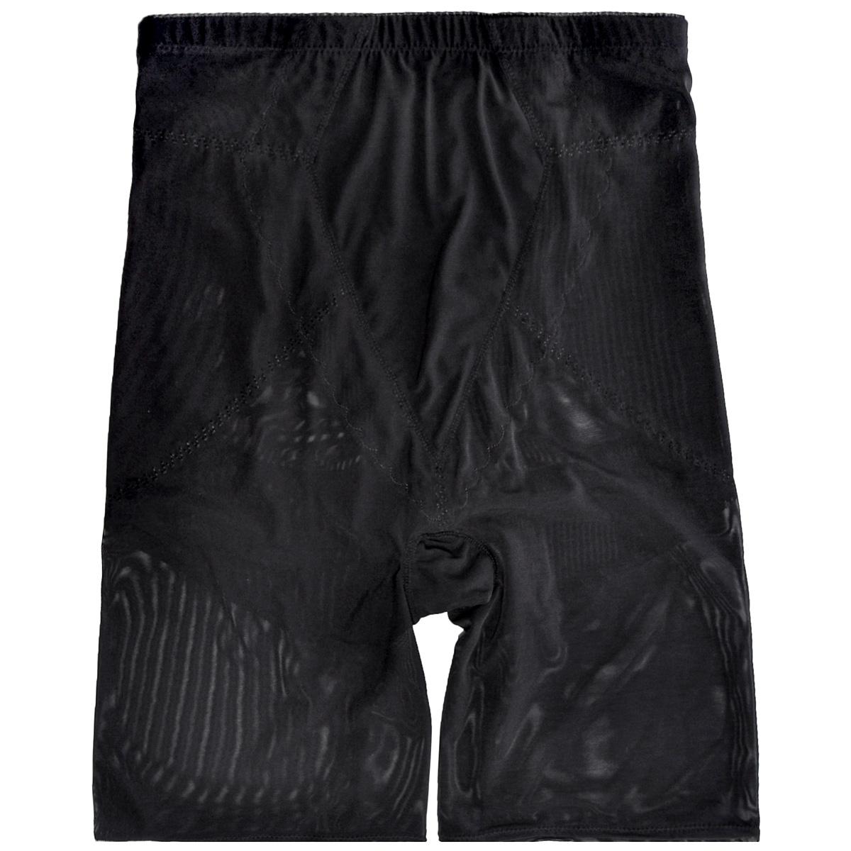 Шорты женские Magic BodyFashion Super-Control Bermuda, супер-утягивающиие, цвет: черный. 14CB. Размер S (44)14CBСупер-утягивающие шорты-бермуды Magic BodyFashion Super-Control Bermuda очень удобные и комфортные в носке. С этими шортами-бермудами вы скорректируете линию бедер, проблемные места в области живота и талии. Шорты созданы из легкой, почти прозрачной ткани, что кажется, будто это вторая кожа. Изделие сконструировано таким образом, чтобы ваши ягодицы выглядели всегда подтянутыми, а фигура в целом производила только приятное впечатление.Крой шорт необычен, благодаря чему их невозможно заметить под любой одеждой, они практически не ощущаются на коже, позволяют чувствовать себя комфортно и легко. Изделие позволяет приобрести выразительные линии своего тела за считанные секунды (можно скрыть все лишнее).Белье Magic BodyFashion создано для тех, кто стремится к безупречности своего стиля. Именно благодаря ему огромное количество женщин чувствуют себя поистине соблазнительными, привлекательными и не на шутку уверенными в себе.