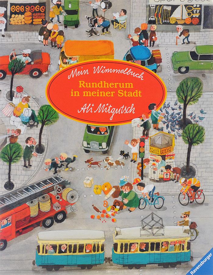 Mein Wimmelbuch: Rundherum in meiner Stadt winter wimmelbuch midi ausgabe