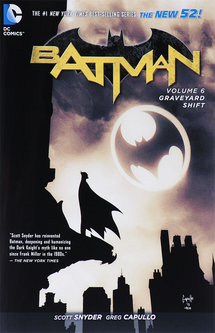Batman: Volume 6: Graveyard Shift batman volume 1 the court of owls