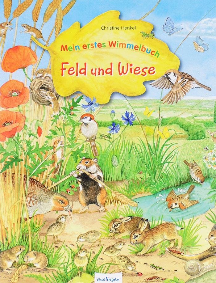Mein erstes Wimmelbuch: Feld und Wiese ботинки der spur der spur de034amwiz42