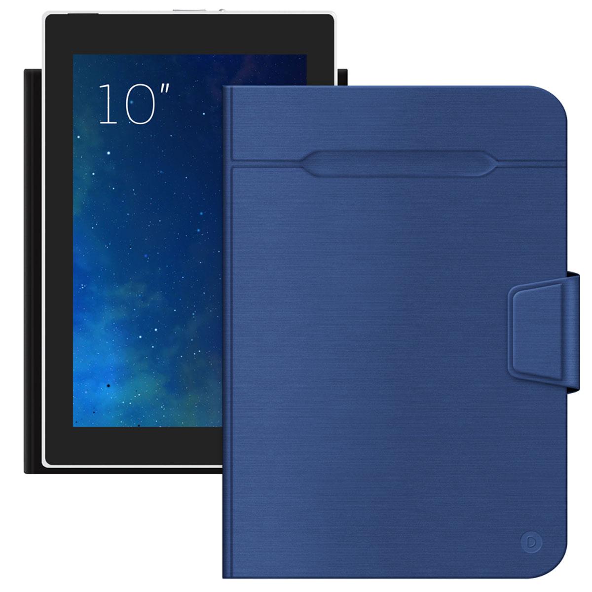 Deppa Wallet Fold чехол-подставка для планшетов 10'', Blue