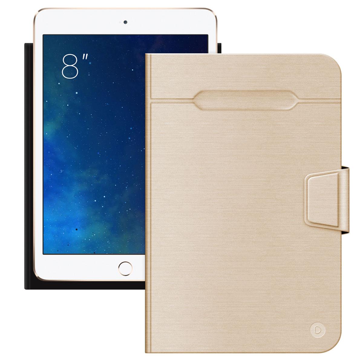 Deppa Wallet Fold чехол-подставка для планшетов 8, Gold87032