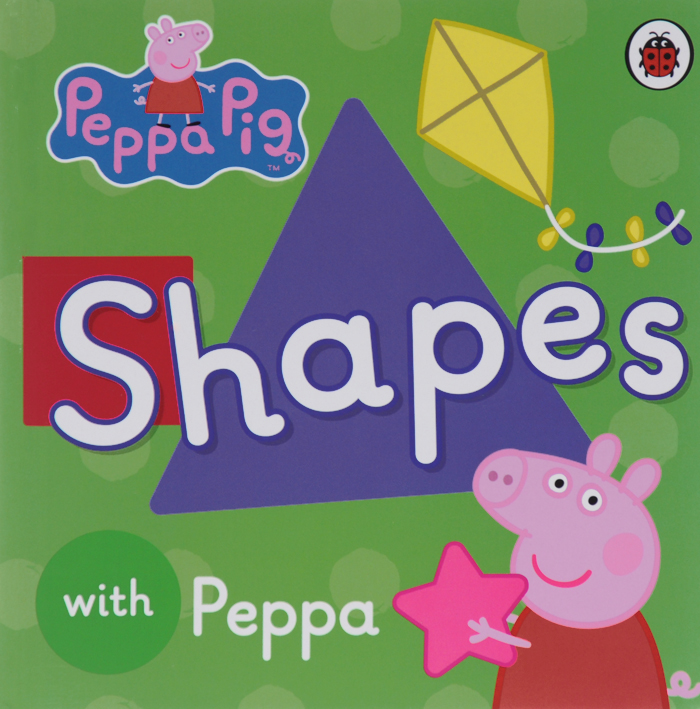 Peppa Pig: Shapes peppa pig 1000 first words sticker book
