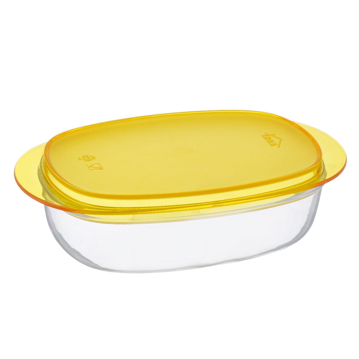 Масленка Idea Кристалл, цвет: оранжевый, прозрачныйМ 1126Масленка Idea Кристалл изготовлена из пищевого пластика. Изделие состоит из подноса и прозрачной крышки. Крышка плотно закрывается, сохраняя масло вкусным и свежим. Масленка Idea Кристалл станет прекрасным дополнением к коллекции ваших кухонных аксессуаров. Размер подноса: 19 см х 10,5 см х 1,5 см. Размер крышки: 16 см х 9,5 см х 5 см.