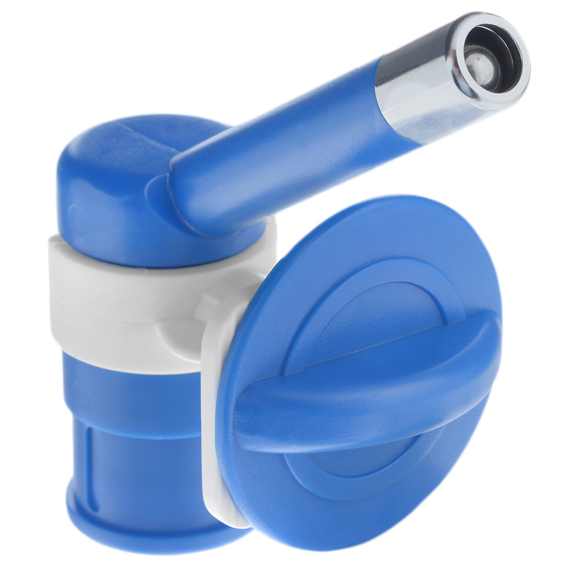 Автопоилка для животных, универсальная, цвет: синий378Автопоилка универсальная с шариковым механизмом, изготовленная из ABS пластика и нержавеющей стали, позволяет получать оптимальные порции жидкости в экономном режиме. Подходит для мелких животных. Автопоилка крепится на клетку. Подходит под любые ПЭТ бутылки.