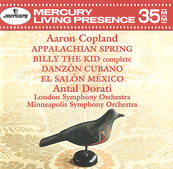 Антал Дорати,The London Symphony Orchestra,Minneapolis Symphony Orchestra Antal Dorati. Aaron Copland. Appalachian Spring / Billy the Kid / Danzon Cubano / El Salon Mexico футболка billy the kid