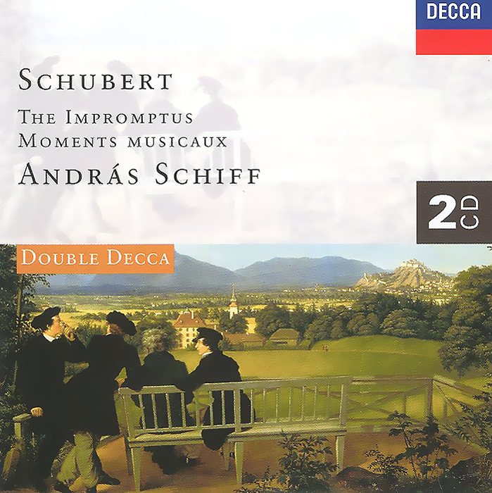 Андрас Шифф Andras Schiff. Schubert. The Impromptus. Moments Musicaux (2 CD) джошуа бэлл пол кокер joshua bell paul coker fritz kreisler the kreisler album