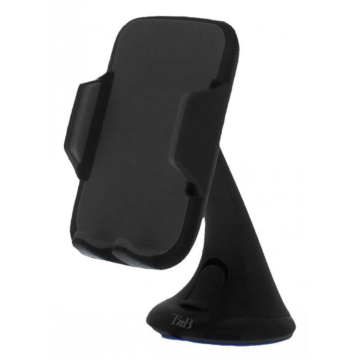TNB CARHOLDBK универсальный держатель, BlackCARHOLDBKTNB CARHOLDBK - универсальный держатель для смартфонов с диагональю до 5,5 дюймов. Крепление на лобовое стекло имеет прочную и удобную конструкцию, что позволит вам с комфортом использовать мобильное устройство в дороге.