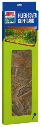 Фон для внутреннего фильтра Juwel Cliff Dark, 55,5 х 18,6/15,7 см86921Фон для декорирования корпуса внутреннего фильтра Cliff Dark в точности имитирует структуру скальных пород с коричневатым оттенком и является идеальным дополнением для задней стенки Cliff Dark. Глубина установки составляет всего 1-1,5 см и придает вашему фильтру неброский эстетичный вид без значительного увеличения размеров конструкции.Фон фильтра состоит из двух частей: передней и боковой.Он подходит для всех типов аквариумов JUWEL и применяемых в них фильтров, не требуя значительных усилий для подгонки.Фон фильтра Cliff Dark изготовлен из чрезвычайно плотного полиуретана и покрыт слоем эпоксидной смолы.Благодаря этой сложной производственной технологии облицовка фильтра с легкостью поддается резке и при этом отличается чрезвычайно прочной поверхностью и стойкостью цвета.Облицовка фильтра Cliff Dark является идеальным дополнением к задним стенкам Cliff Dark, подходящим террасам и декоративным камням.