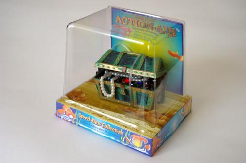 Распылитель декоративный Penn-Plax Сундук с сокровищами декорация для аквариума penn plax череп мамонта 11 4 х 23 5 х 12 7 см