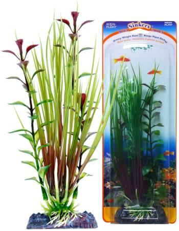 Растение-композиция HAIRGRASS-BLOOMING LUDWIGIA 20см. ЭЛЕОХАРИС-ЛЮДВИГИЯP5GVMHКомпозиция их двух растений на массивном основани, удерживающем композицию на дне аквариума. Растения, объединенные на одном основании являются оригинальным элементом оформления аквариума.