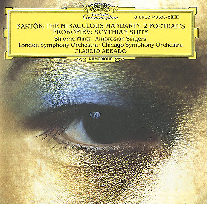 Клаудио Аббадо,The London Symphony Orchestra,Chicago Symphony Orchestra Claudio Abbado. Bartok. The Miraculous Mandarin / Two Portraits Op.5. Serge Prokofiev. Scythian Suite claudio abbado sting prokofiev peter and the wolf