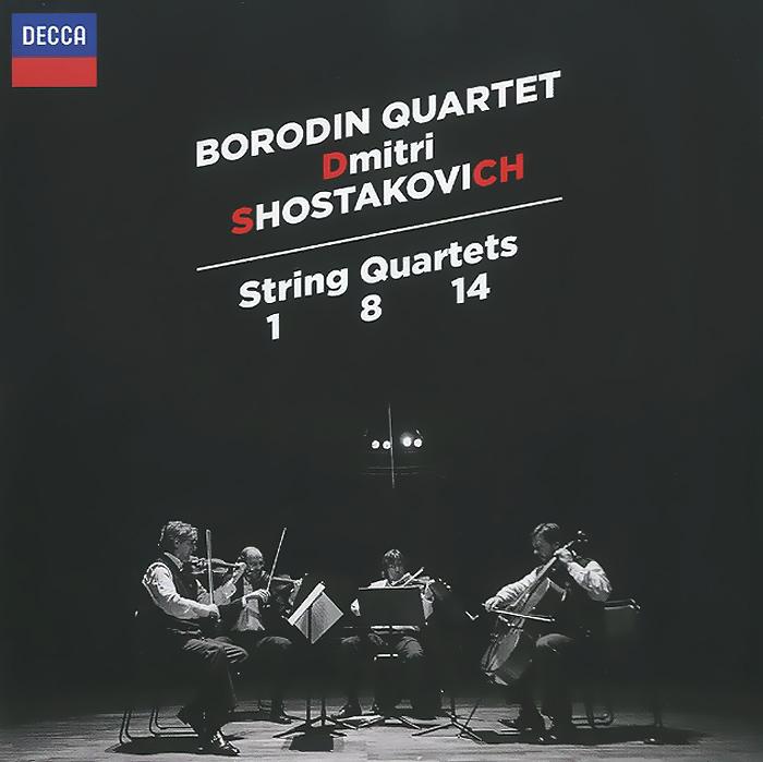 Borodin Quartet. Dmitri Shostakovich. String Quartets No. 1, 8, 14