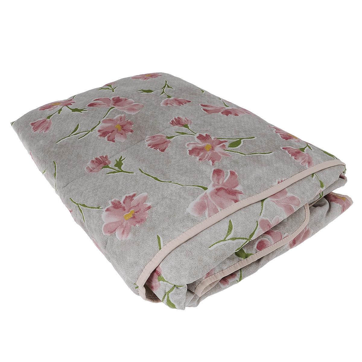 Одеяло летнее OL-Tex Miotex, наполнитель: полиэфирное волокно Holfiteks, цвет: серый, розовый, 172 х 205 смМХПЭ-18-1_серый, макиЛегкое летнее одеяло OL-Tex Miotex создаст комфорт и уют во время сна. Чехолвыполнен из полиэстера и оформлен красочным рисунком. Внутри - современныйнаполнитель из полиэфирного высокосиликонизированного волокна Holfiteks,упругий и качественный. Прекрасно держит тепло. Одеяло с наполнителемHolfiteks легкое и комфортное. Даже после многократных стирок не теряет своюформу, наполнитель не сбивается, так как одеяло простегано и окантовано. Невызывает аллергии. Holfiteks - это возможность легко ухаживать за своимипостельными принадлежностями.Можно стирать в машинке, изделия быстро и полностью высыхают - этообеспечивает гигиену спального места при невысокой цене на продукцию. Плотность: 100 г/м2.