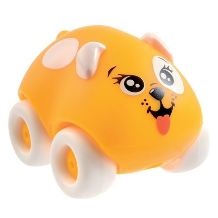 Smoby Машинка Animal Planet Собачка цвет желтый цена и фото