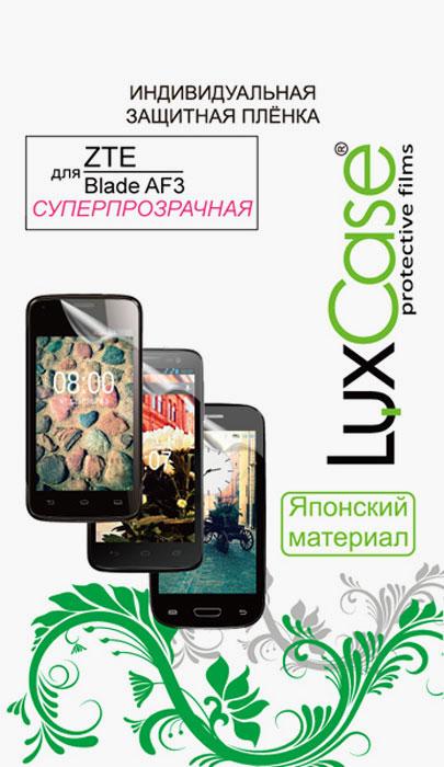 Luxcase защитная пленка для ZTE Blade AF3, суперпрозрачная аксессуар защитная пленка asus zenfone live zb553kl luxcase суперпрозрачная 55823