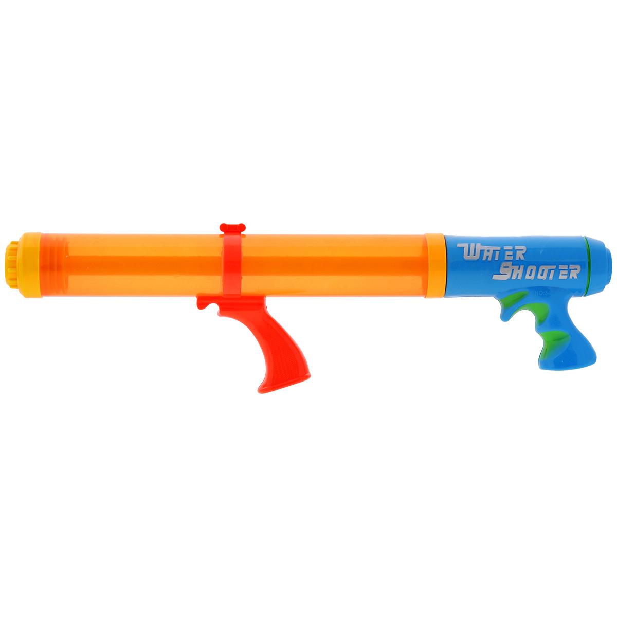 Bebelot Водный пистолет-помпа Тайный агент цвет оранжевый синий пистолет водный bebelot шпион 11 см