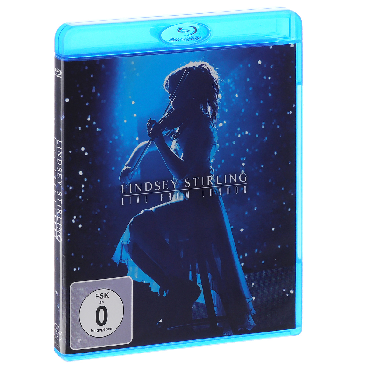 Lindsey Stirling: Live From London (Blu-ray) cd lindsey stirling warmer in the winter