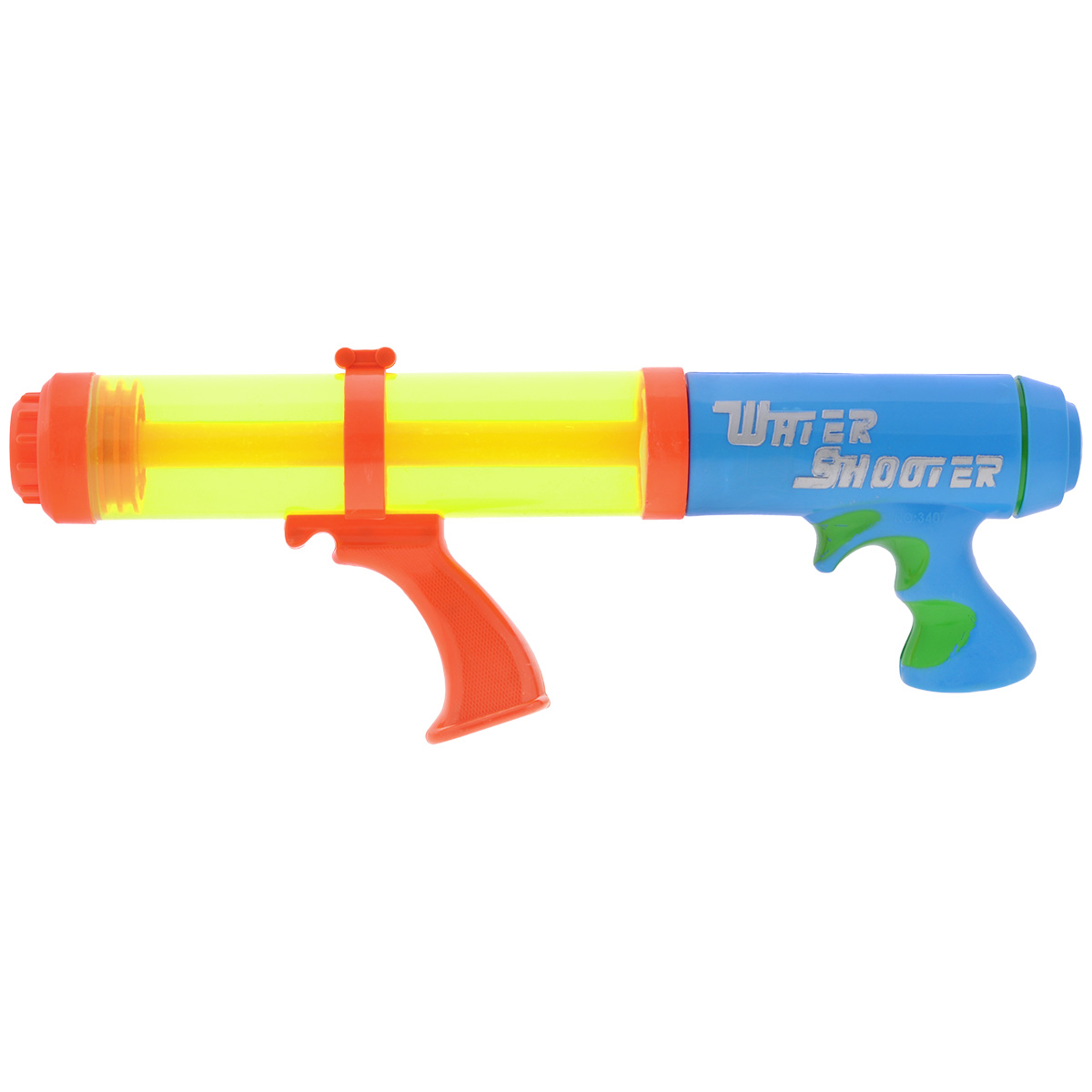 Водный пистолет-помпа Bebelot Фонтан, цвет: салатовый, голубой пистолет водный bebelot шпион 11 см