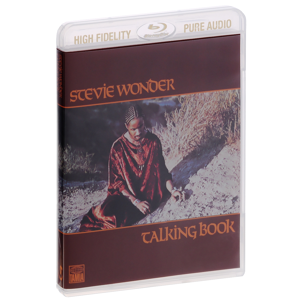 Стиви Уандер Stevie Wonder. Talking Book (Blu-Ray Audio) stevie wonder live at last blu ray