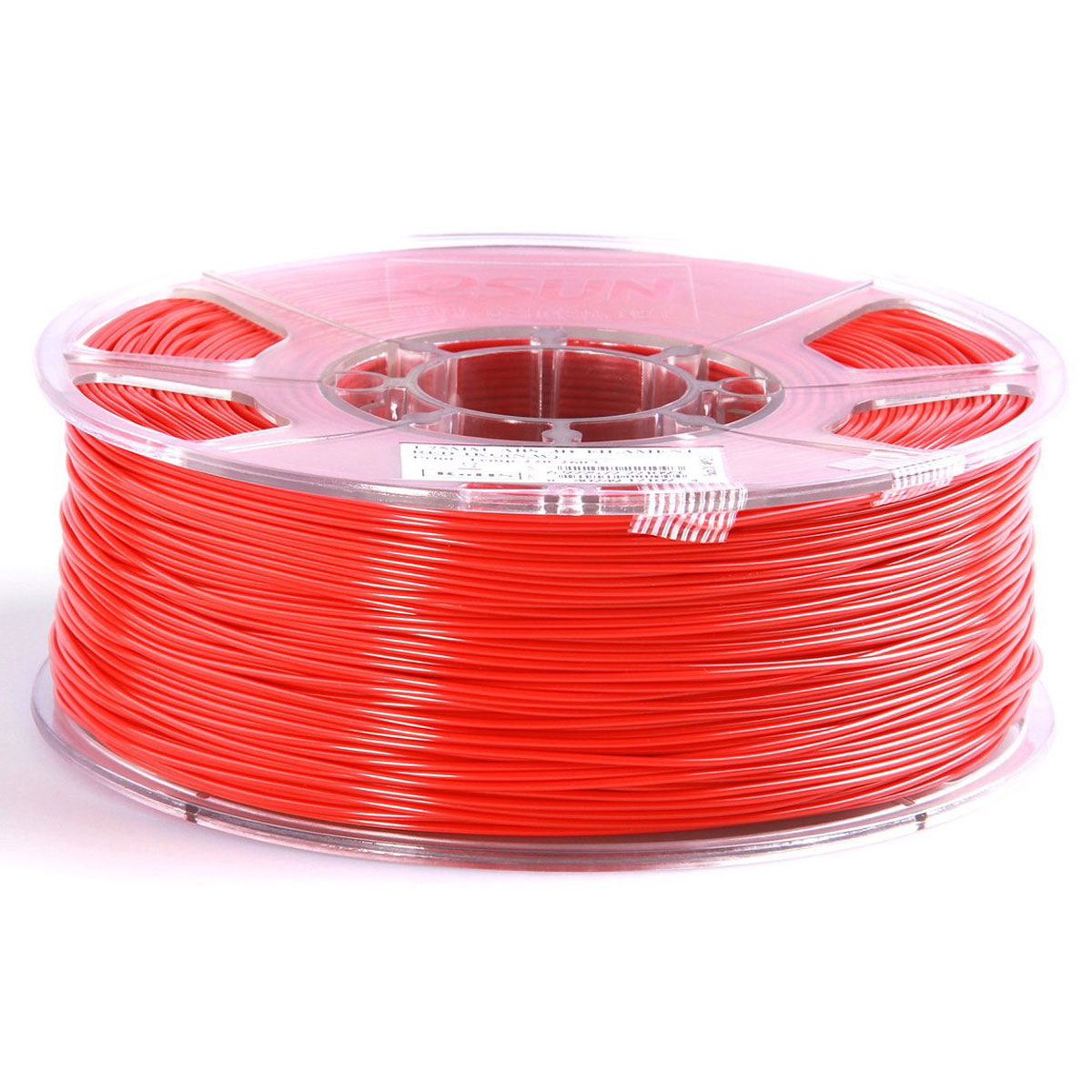 ESUN пластик ABS в катушке, Red, 1,75 ммABS175R1Пластик ABS от ESUN долговечный и очень прочный полимер, ударопрочный, эластичный и стойкий к моющим средствам и щелочам. Один из лучших материалов для печати на 3D принтере. Пластик ABS не имеет запаха и не является токсичным. Температура плавления220-260°C. АБС пластик для 3D-принтера применяется в деталях автомобилей, канцелярских изделиях, корпусах бытовой техники, мебели, сантехники, а также в производстве игрушек, сувениров, спортивного инвентаря, деталей оружия, медицинского оборудования и прочего.Диаметр пластиковой нити: 1.75 мм