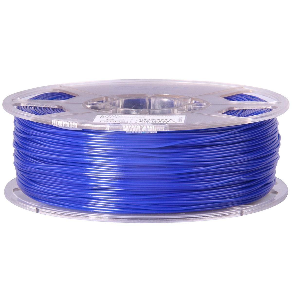 ESUN пластик PLA в катушке, Blue, 1,75 ммPLA175U1Пластик PLA от ESUN долговечный и очень прочный полимер, ударопрочный, эластичный и стойкий к моющим средствам и щелочам. Один из лучших материалов для печати на 3D принтере. Пластик не имеет запаха и не является токсичным. Температура плавления190-220°C. PLA пластик для 3D-принтера применяется в деталях автомобилей, канцелярских изделиях, корпусах бытовой техники, мебели, сантехники, а также в производстве игрушек, сувениров, спортивного инвентаря, деталей оружия, медицинского оборудования и прочего.Диаметр нити: 1.75 мм