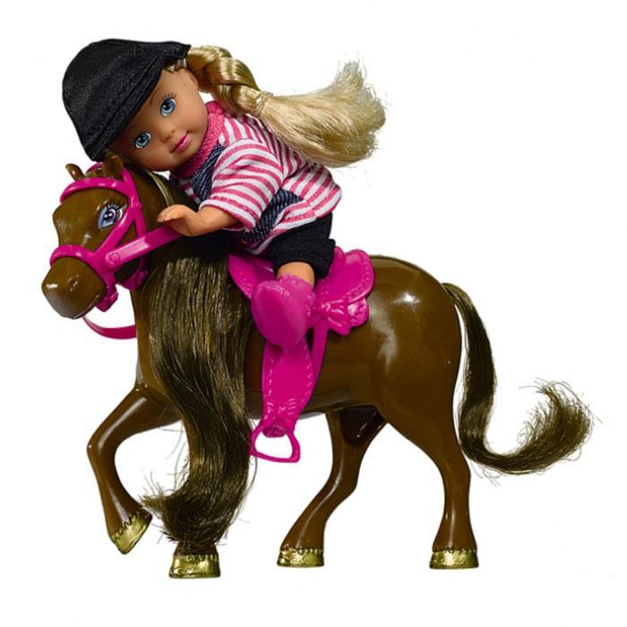 Кукла Simba Еви с пони simba кукла evi
