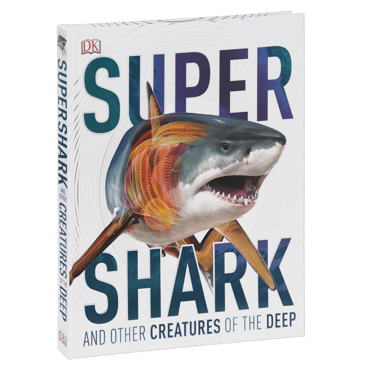 Super Shark and other Creatures of the Deep mr froger carcharodon megalodon model giant tooth shark sphyrna aquatic creatures wild animals zoo modeling plastic sea lift toy